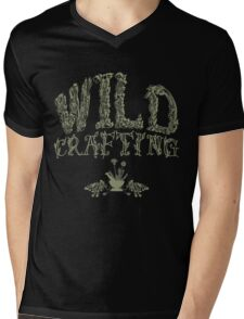 Wildcrafting: Foraging for foods and herbal medicines Mens V-Neck T-Shirt