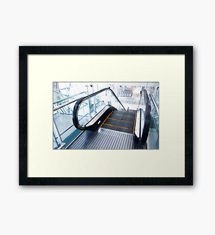Go Down Framed Print