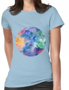 Watercolor 1 Womens Fitted T-Shirt