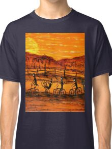 """Ned Kelly Gang Easy Riders"" Original Australian Acrylic Painting;  SOLD Classic T-Shirt"