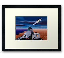"""☞ º°""""˜`""""°☜♥☞ PIGEON IMPOSSIBLE >PILLOW,PICTURE,TOTE BAG-VARIOUS APPAREL ☞ º°""""˜`""""°☜♥☞ Framed Print"""