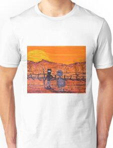 "ORIGINAL Acrylic  Australian Painting ""Ned Kelly's Mate""  EJCairns; SOLD Unisex T-Shirt"