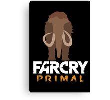 Far Cry primal | Minimalist Mamut | Original Canvas Print