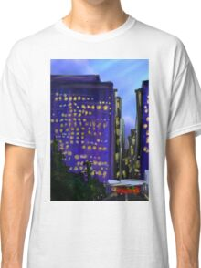 Rainy sunset over Lake Merritt Classic T-Shirt