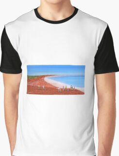 """ Broome Red"" Original Acrylic Painting Australia; SOLD Graphic T-Shirt"