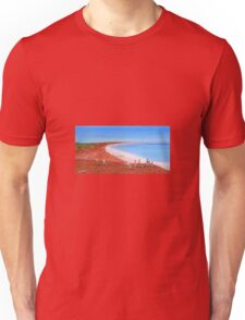 """ Broome Red"" Original Acrylic Painting Australia; SOLD Unisex T-Shirt"