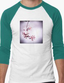 Plum blossoms Men's Baseball ¾ T-Shirt