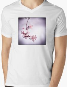 Plum blossoms Mens V-Neck T-Shirt