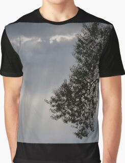 cloudy sky on the hilly Graphic T-Shirt