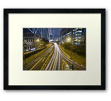Night Way Framed Print