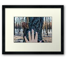 Hands On Framed Print