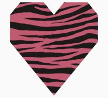 0072 Brink Pink Tiger One Piece - Short Sleeve