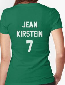 Attack On Titan Jerseys (Jean Kirstein) Womens Fitted T-Shirt