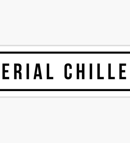 Serial Chiller Sticker