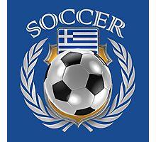 Greece Soccer 2016 Fan Gear Photographic Print