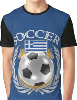 Greece Soccer 2016 Fan Gear Graphic T-Shirt