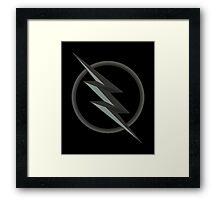 The Flash: Zoom  Framed Print