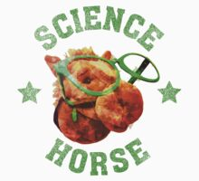 Science Horse One Piece - Short Sleeve