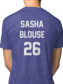 Attack On Titan Jerseys (Sasha Blouse) Tri-blend T-Shirt