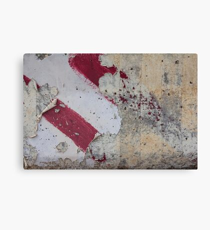 Decayed Direction Canvas Print