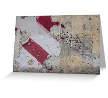 Decayed Direction Greeting Card