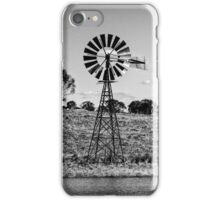 Windmill scene iPhone Case/Skin