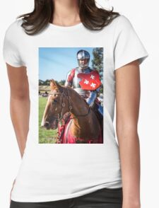 A Noble Steed Womens Fitted T-Shirt