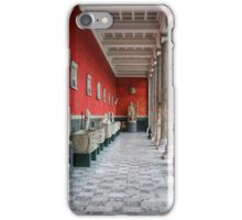 Classics in red and white iPhone Case/Skin
