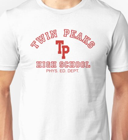 Twin Peaks High School Unisex T-Shirt