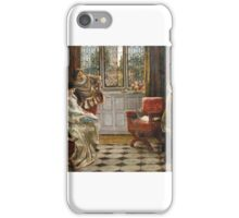 Francis Sydney Muschamp - The Recital (1) iPhone Case/Skin