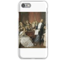 François Biard - Triumph of a Tenor during a Musical Matinée iPhone Case/Skin