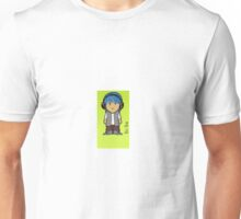 Blue Hair Unisex T-Shirt