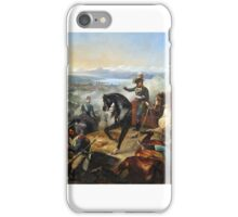 François Bouchot - The Battle of Zurich (central panel), iPhone Case/Skin