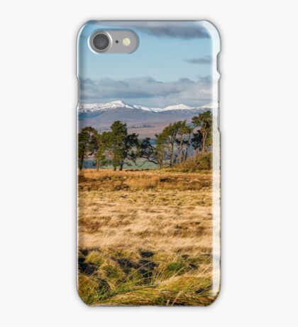 Central Scotland Scenery iPhone Case/Skin