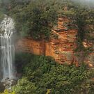 Wentworth Falls After The Big Rain by Michael Matthews