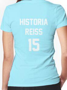 Attack On Titan Jerseys (Historia Reiss) Women's Fitted V-Neck T-Shirt