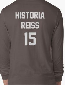 Attack On Titan Jerseys (Historia Reiss) Long Sleeve T-Shirt