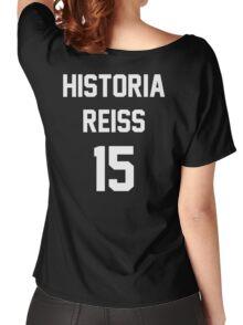 Attack On Titan Jerseys (Historia Reiss) Women's Relaxed Fit T-Shirt
