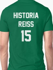 Attack On Titan Jerseys (Historia Reiss) Unisex T-Shirt