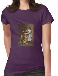 Briton Riviere - Reading Lesson Compulsory Education Womens Fitted T-Shirt