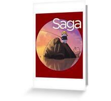 Saga Comic Ghus Greeting Card