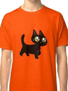 Cute Black Kitten Classic T-Shirt
