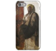 Frank Duveneck Study for Guard of the Harem  iPhone Case/Skin