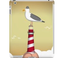 Lighthouse of the Seagull iPad Case/Skin