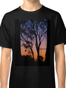 The sunset through the trees Classic T-Shirt