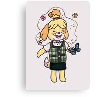 Isabelle -  animal crossing Canvas Print