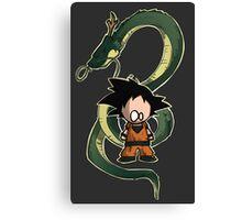 Goku chibi Canvas Print