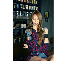 Dahye In The Bar Photographic Print
