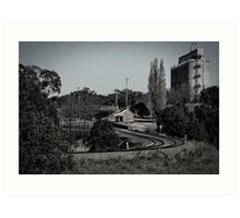 Country train station Art Print