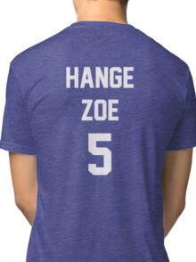 Attack On Titan Jerseys (Hange Zoe) Tri-blend T-Shirt